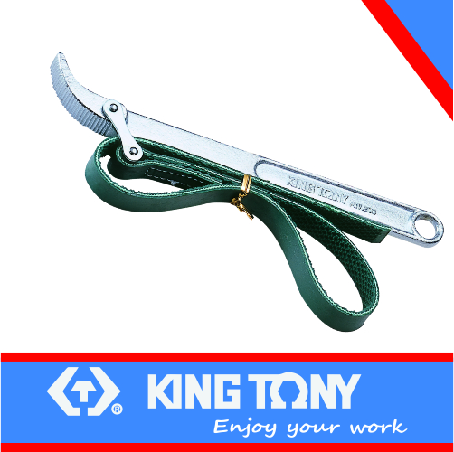 Strap Wrench for Oil Filter 60-140mm KING TONY